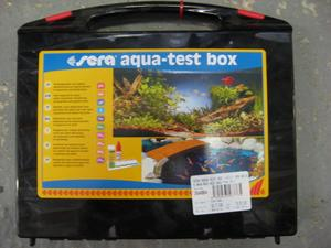 Sera  Aqua-test box EX (+CI) (pH,GH,KH,NH4/NH3,NO2,NO3,PO4,Fe) - eShop  Produkty TAKACS :web shop: