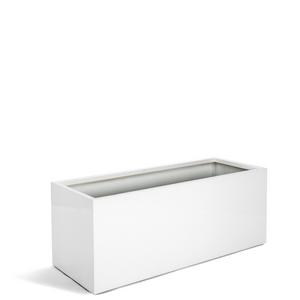 Kvetináč Argento Planter Rectangle M Shiny White 80x40x40cm - TAKACS eshop