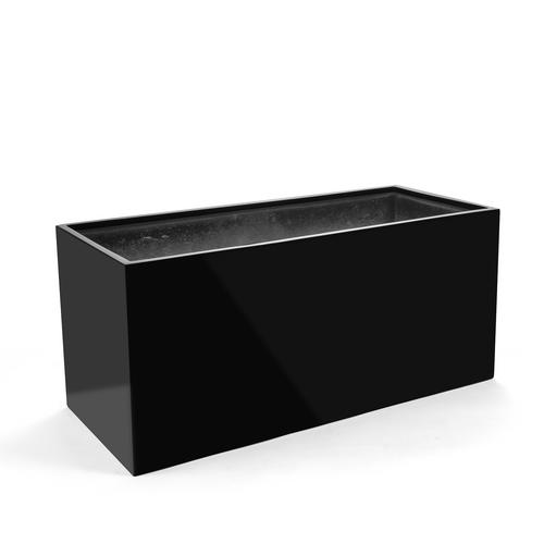 Kvetináč Argento Planter Rectangle S Shiny Black 60x30x30cm - TAKACS eshop