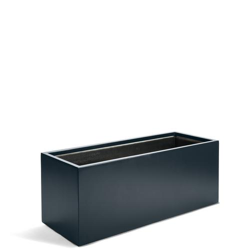 Kvetináč Argento Box Planter Rectangle L Anthracite 100x45x45cm - TAKACS eshop
