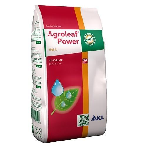 Agroleaf Power High K 15-10-31+TE 2kg 6ks/krt. 72 krt./pal. - eShop  Produkty TAKACS :web shop: